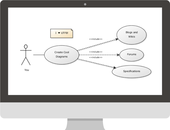 Create UML diagrams online in seconds, no special tools needed.
